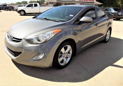 2013 Hyundai Elantra for sale at Lewisville Car in Lewisville TX