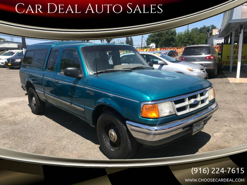 1993 Ford Ranger for sale at Car Deal Auto Sales in Sacramento CA