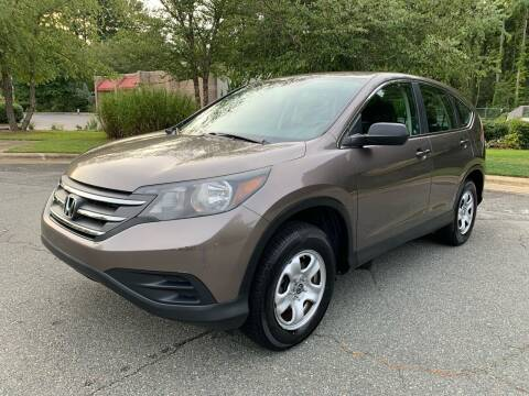 2012 Honda CR-V for sale at Triangle Motors Inc in Raleigh NC