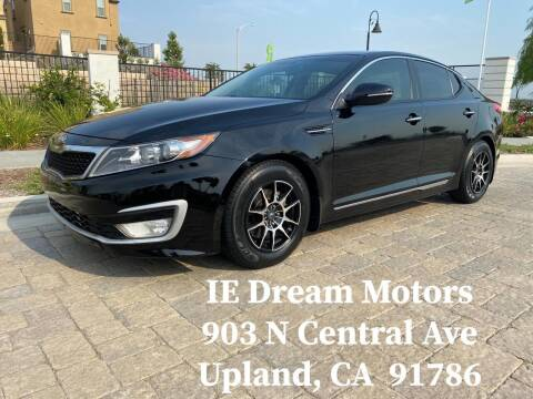 2012 Kia Optima Hybrid for sale at IE Dream Motors-Upland in Upland CA