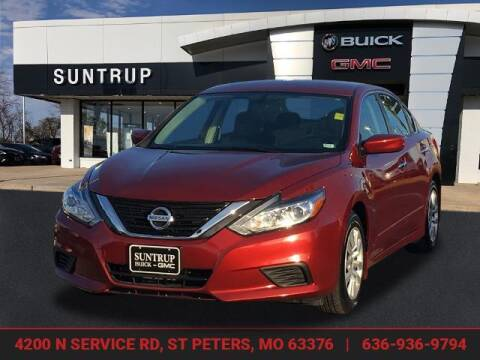 2016 Nissan Altima for sale at SUNTRUP BUICK GMC in Saint Peters MO
