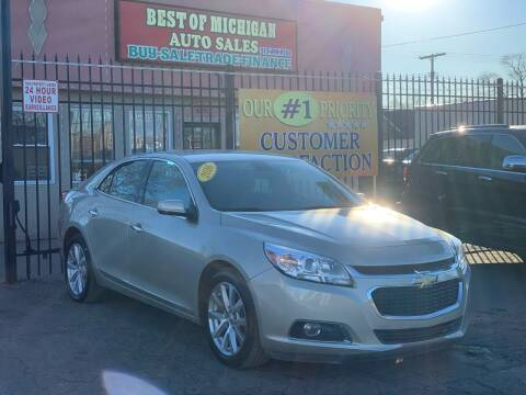 2016 Chevrolet Malibu Limited for sale at Best of Michigan Auto Sales in Detroit MI