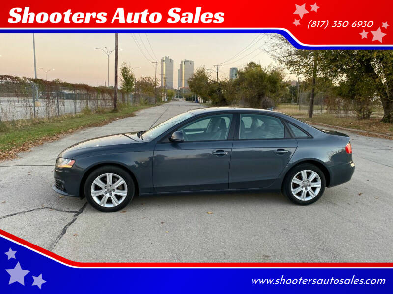 2009 Audi A4 for sale at Shooters Auto Sales in Fort Worth TX