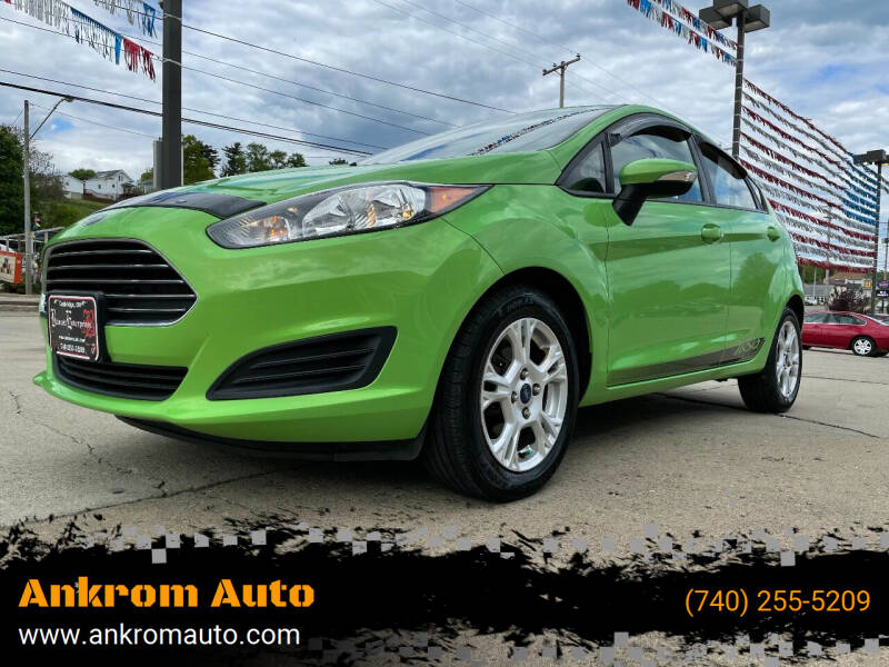 2014 Ford Fiesta for sale at Ankrom Auto in Cambridge OH