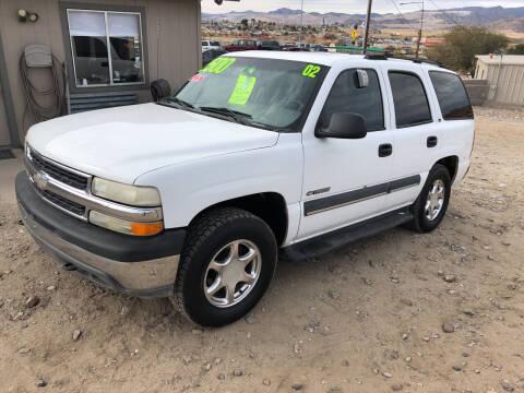 2002 Chevrolet Tahoe for sale at Hilltop Motors in Globe AZ