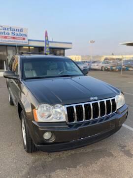2005 Jeep Grand Cherokee for sale at Carland Auto Sales in Sacramento CA