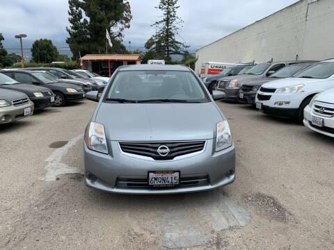 2010 Nissan Sentra for sale at Goleta Motors in Goleta CA