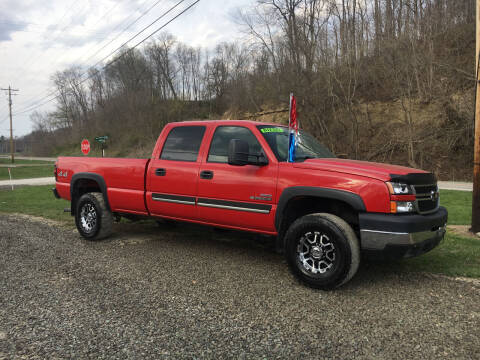 2006 Chevrolet Silverado 2500HD for sale at DONS AUTO CENTER in Caldwell OH
