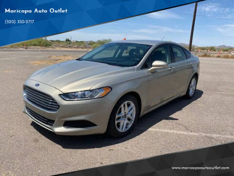 2016 Ford Fusion for sale at Maricopa Auto Outlet in Maricopa AZ