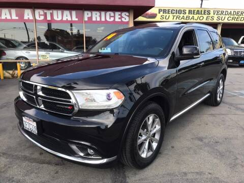 2014 Dodge Durango for sale at Sanmiguel Motors in South Gate CA