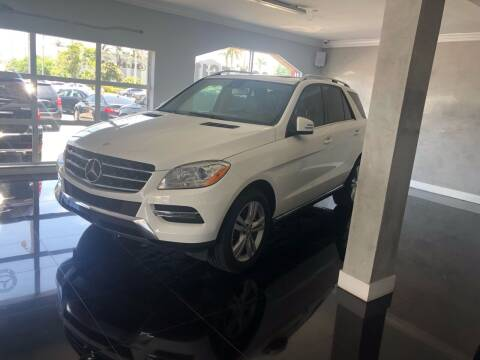 2015 Mercedes-Benz M-Class for sale at CARSTRADA in Hollywood FL