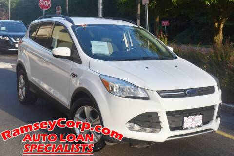 2015 Ford Escape for sale at Ramsey Corp. in West Milford NJ