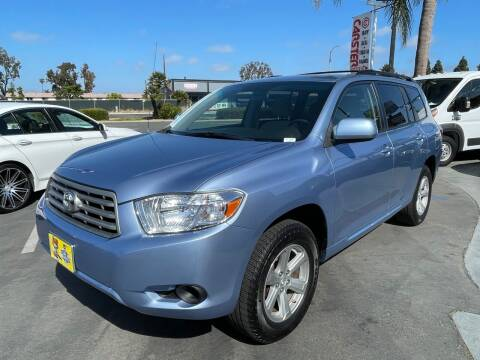 2009 Toyota Highlander for sale at CARSTER in Huntington Beach CA