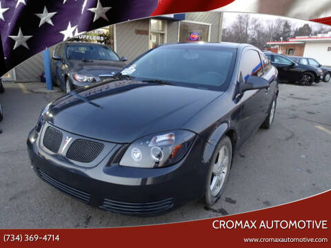 2009 Pontiac G5 for sale at Cromax Automotive in Ann Arbor MI
