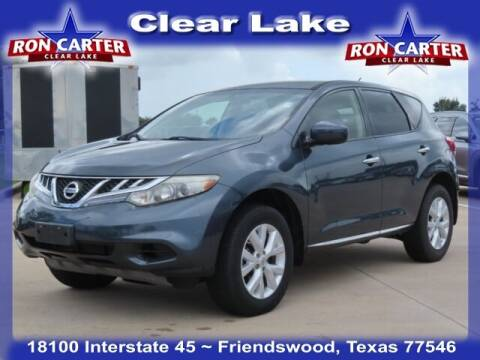 2013 Nissan Murano for sale at Ron Carter  Clear Lake Used Cars in Houston TX