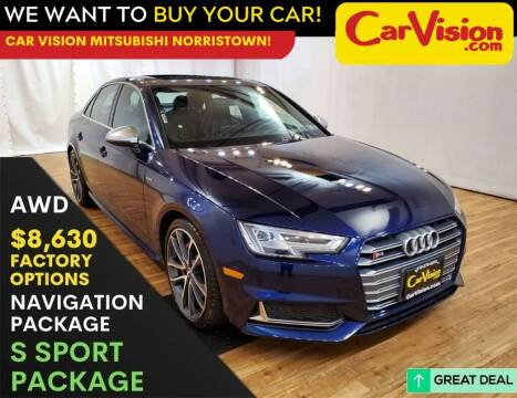 2018 Audi S4 for sale at Car Vision Mitsubishi Norristown in Trooper PA