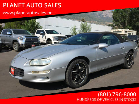 2002 Chevrolet Camaro for sale at PLANET AUTO SALES in Lindon UT