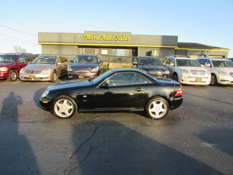 1999 Mercedes-Benz SLK for sale at MIRA AUTO SALES in Cincinnati OH