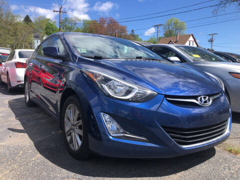 2015 Hyundai Elantra for sale at Top Line Import in Haverhill MA