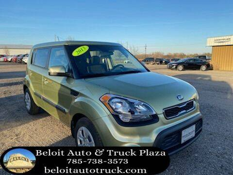 2013 Kia Soul for sale at BELOIT AUTO & TRUCK PLAZA INC in Beloit KS