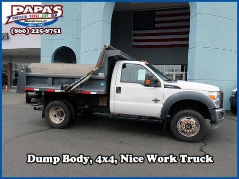 2011 Ford F-550 Super Duty for sale at Papas Chrysler Dodge Jeep Ram in New Britain CT