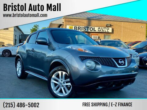 2011 Nissan JUKE for sale at Bristol Auto Mall in Levittown PA