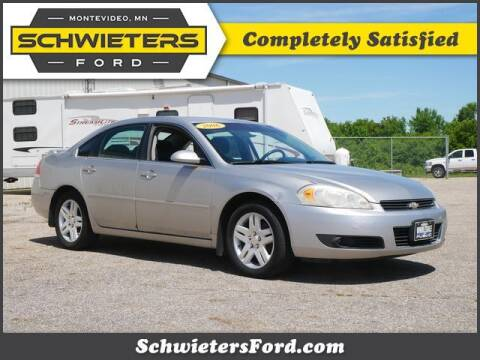 2006 Chevrolet Impala for sale at Schwieters Ford of Montevideo in Montevideo MN