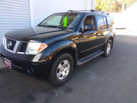 2007 Nissan Pathfinder for sale at Walts Auto Sales in Southwick MA