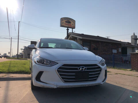2017 Hyundai Elantra for sale at All Starz Auto Center Inc in Redford MI