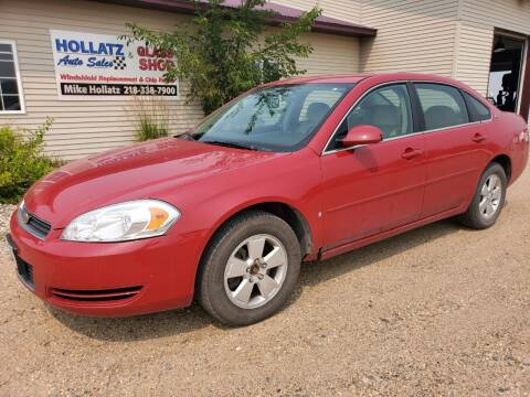 2008 Chevrolet Impala for sale at Hollatz Auto Sales in Parkers Prairie MN
