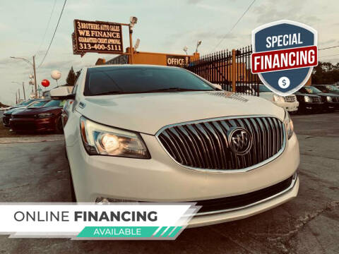 2014 Buick LaCrosse for sale at 3 Brothers Auto Sales Inc in Detroit MI