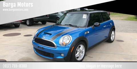 2010 MINI Cooper for sale at Barga Motors in Tewksbury MA