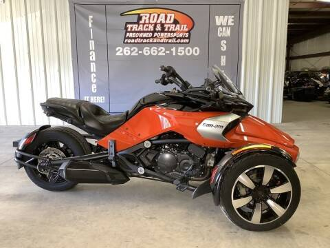 2015 Can-Am Spyder® F3 S 6-Speed Manu for sale at Road Track and Trail in Big Bend WI