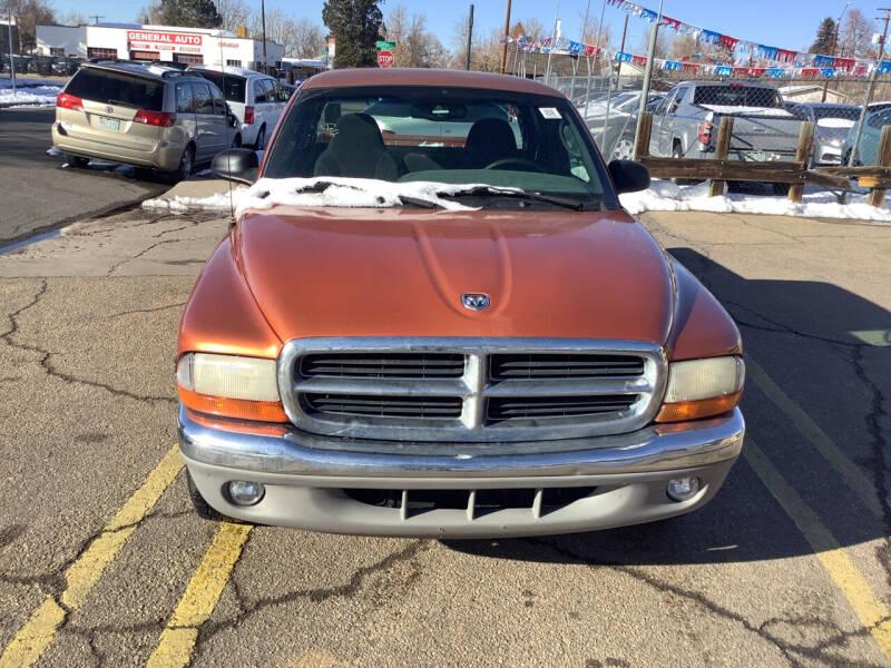 2000 Dodge Dakota for sale at GPS Motors in Denver CO