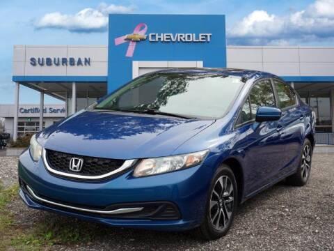 2015 Honda Civic for sale at Suburban Chevrolet of Ann Arbor in Ann Arbor MI