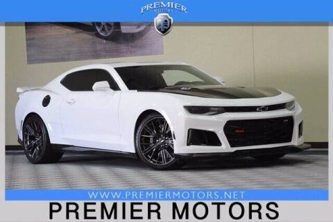 2018 Chevrolet Camaro for sale at Premier Motors in Hayward CA