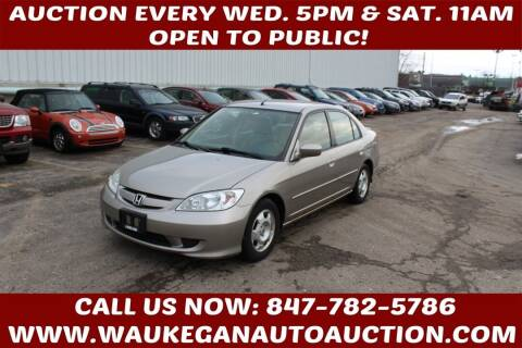 2004 Honda Civic for sale at Waukegan Auto Auction in Waukegan IL