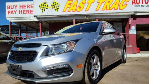 2015 Chevrolet Cruze for sale at Fast Trac Auto Sales in Phoenix AZ