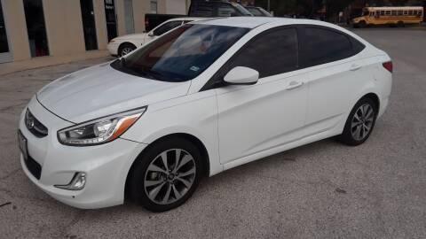 2016 Hyundai Accent for sale at RICKY'S AUTOPLEX in San Antonio TX