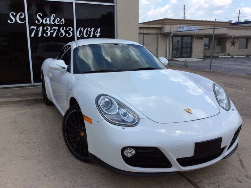 2011 Porsche Cayman for sale at SC SALES INC in Houston TX