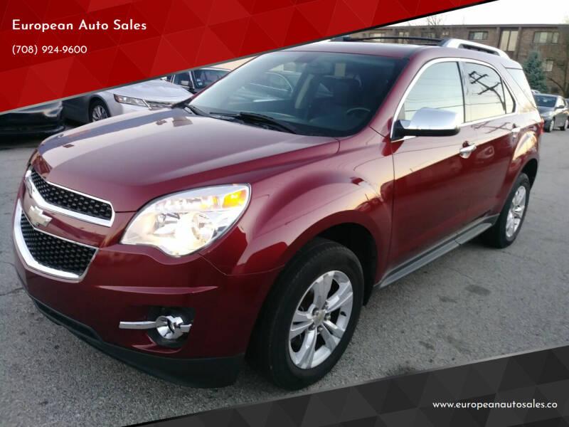 2011 Chevrolet Equinox for sale at European Auto Sales in Bridgeview IL