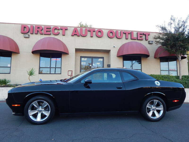 2015 Dodge Challenger for sale at Direct Auto Outlet LLC in Fair Oaks CA