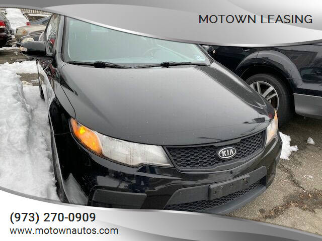 2010 Kia Forte Koup for sale at Motown Leasing in Morristown NJ