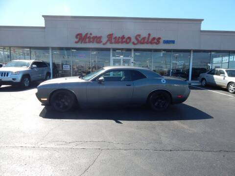2012 Dodge Challenger for sale at Mira Auto Sales in Dayton OH