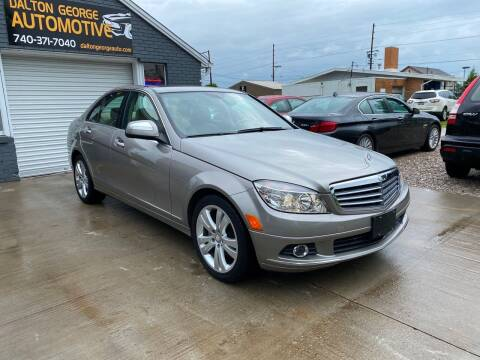 2008 Mercedes-Benz C-Class for sale at Dalton George Automotive in Marietta OH