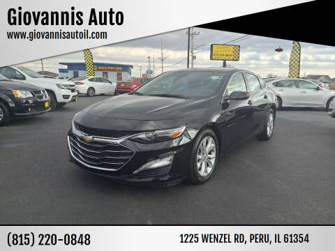 2019 Chevrolet Malibu for sale at Giovannis Auto in Peru IL