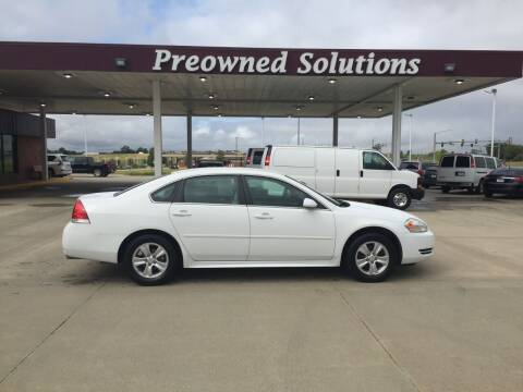 2014 Chevrolet Impala Limited for sale at Preowned Solutions in Urbandale IA
