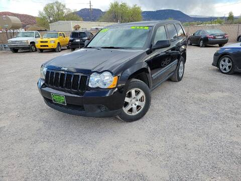 2008 Jeep Grand Cherokee for sale at Canyon View Auto Sales in Cedar City UT