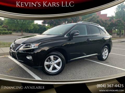 2013 Lexus RX 350 for sale at Kevin's Kars LLC in Richmond VA