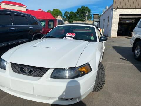 2004 Ford Mustang for sale at Story Brothers Auto in New Britain CT